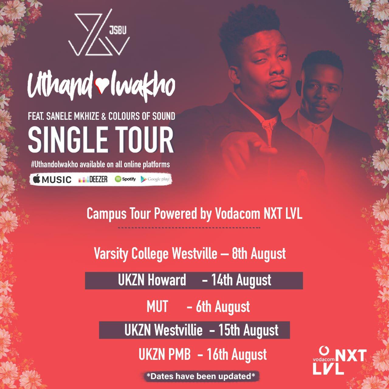 jsbu tour dates