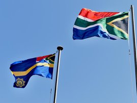 South Africa Police Flag
