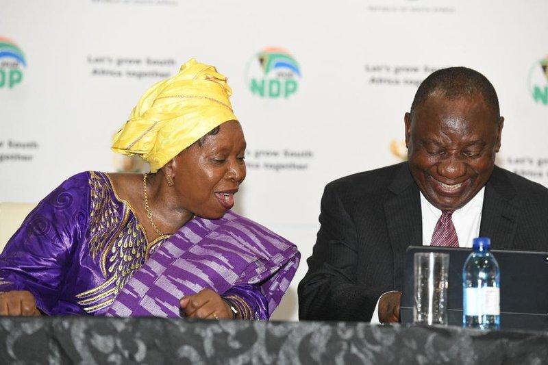 Cyril Ramaphosa Nkosazana Dlamini-Zuma