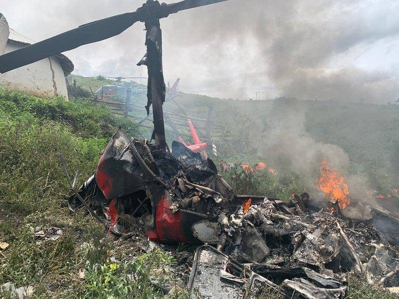 Helicopter crash Eshowe