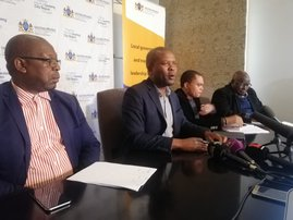 Lebogang Maile MEC for Human Settlements and Cooperative Governance