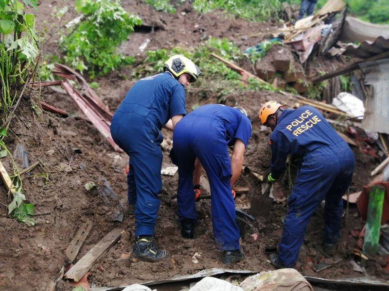 Man killed after landslide hits Ntuzuma home