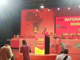 Leader Julius Malema