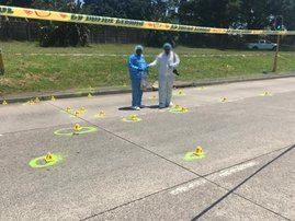 Forensic teams search for clues after fatal Umbilo drive-by shooting