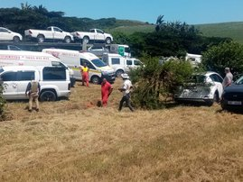car thief killed in shootout with police on Durban N2