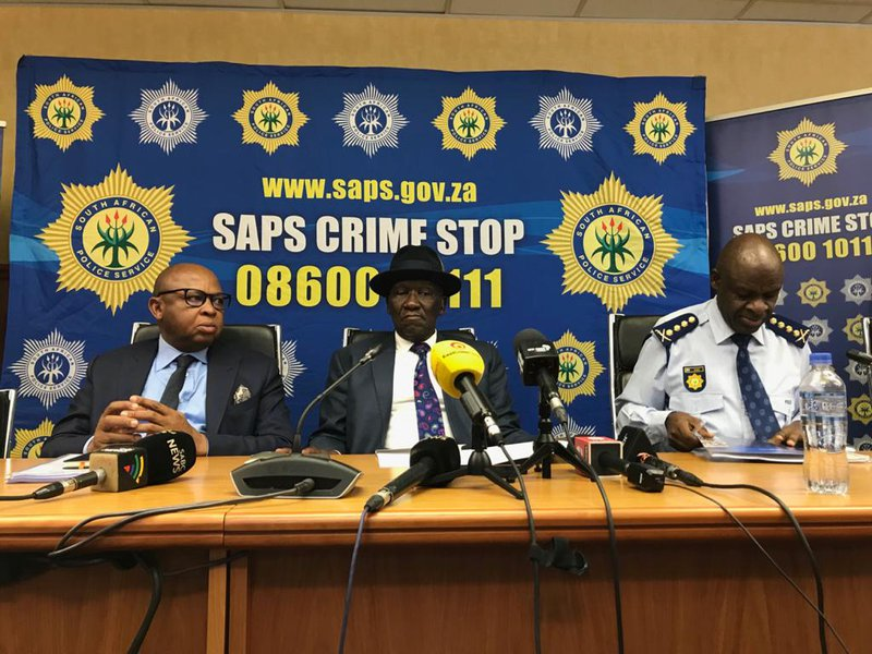 Police Minister Bheki Cele Safer Festive Season Campaign