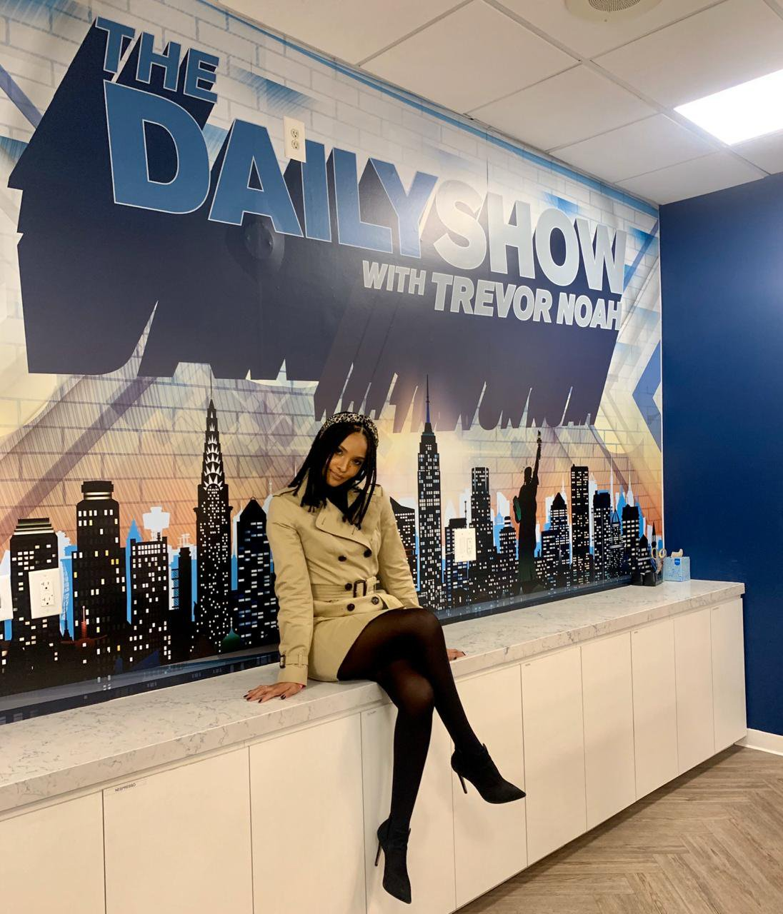 Liesl Laurie The Daily Show 2