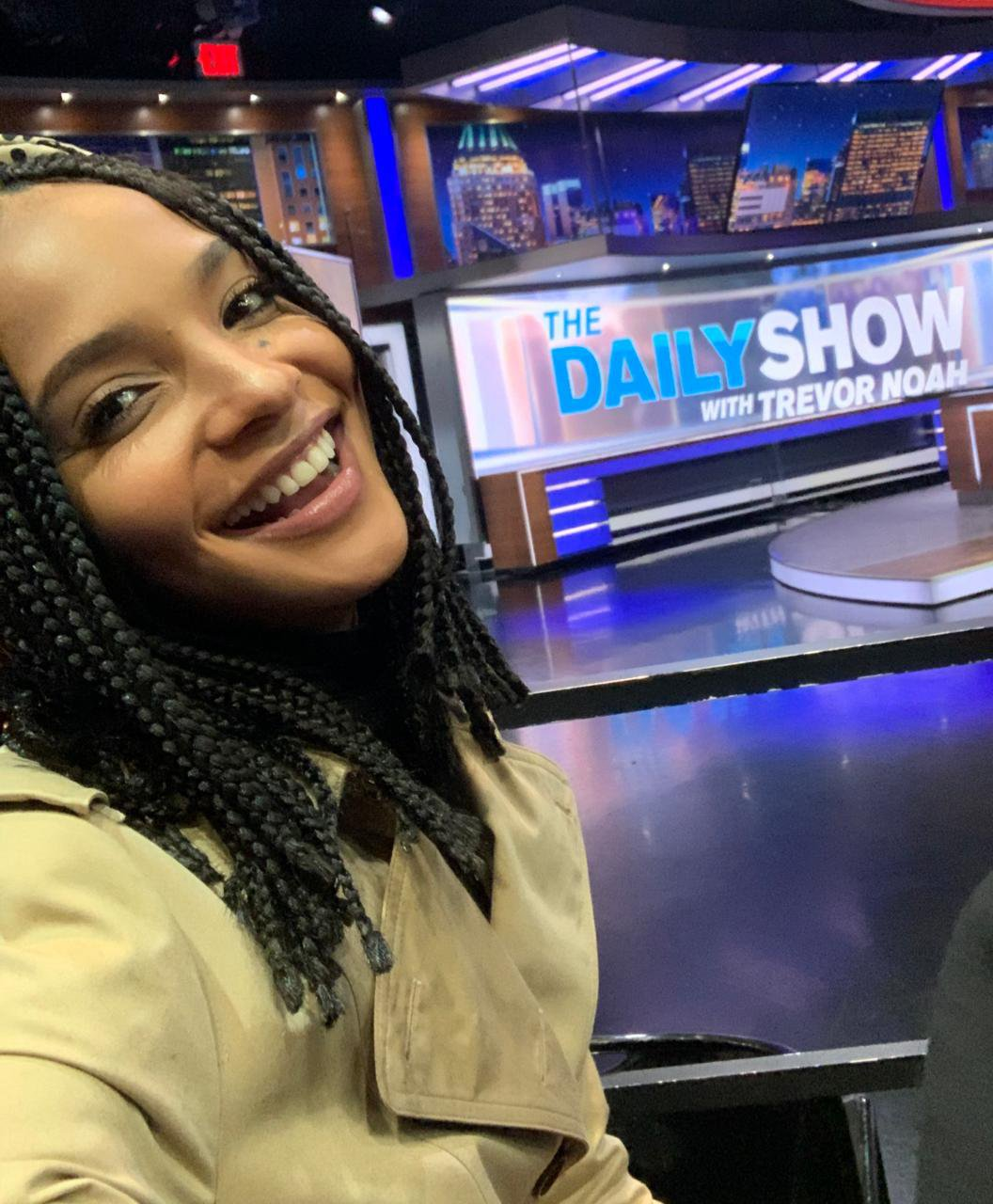Liesl Laurie The Daily Show 1