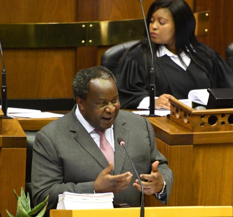 Tito Mboweni Budget