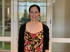 Virologist Dr Marcelle Myburgh