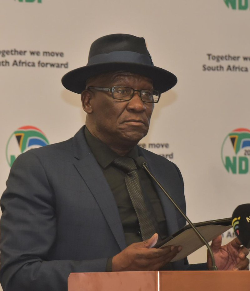 Bheki Cele on dog walking