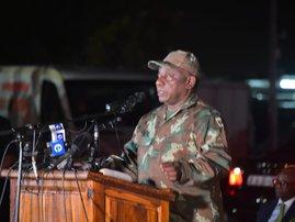 Cyril Ramaphosa SANDF