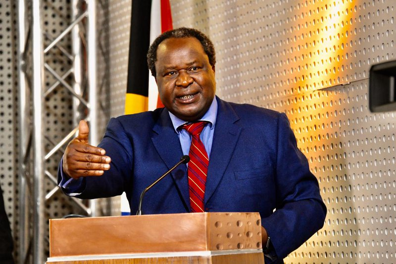 Tito mboweni finance minister R500bn briefing