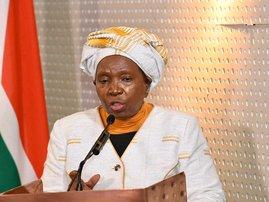 Nkosazana Dlamini-Zuma at NCC cigarettes