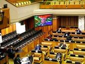 Zweli Mkhize in Parliament