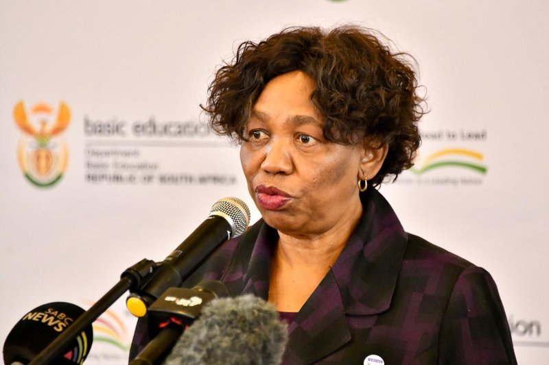 Back to school: 'We missed you guys,' Motshekga tells returning pupils