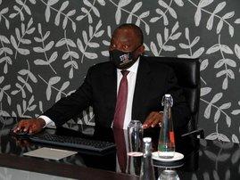 Cyril Ramaphosa Cape Town - AFP