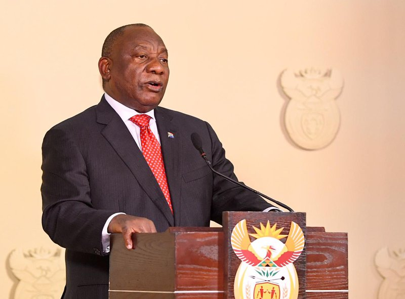 President Cyril Ramaphosa opens hairdressers, cinemas and restauants