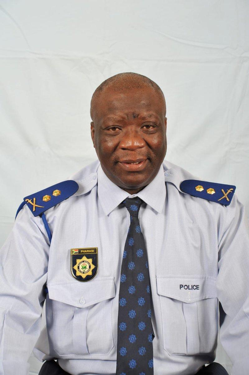 Gauteng deputy police commissioner Johannes Pharasi dies