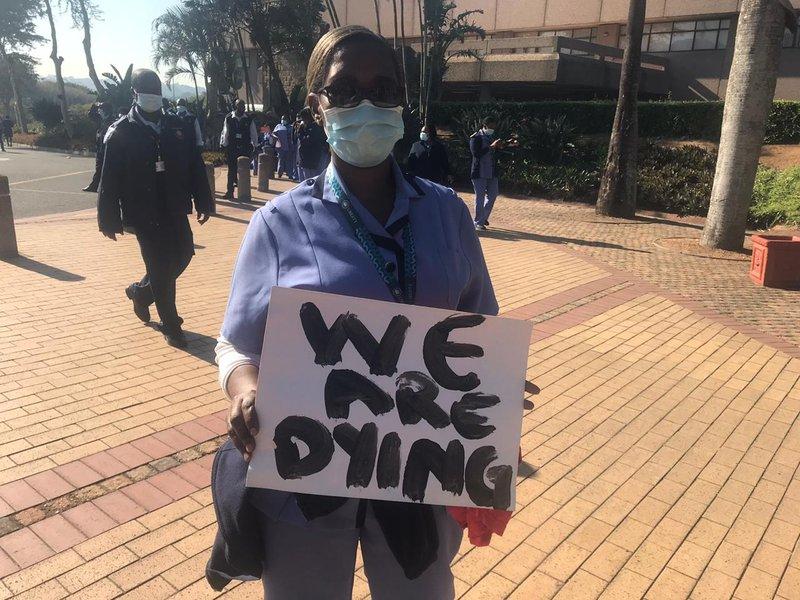 Albert Luthuli nurse protest