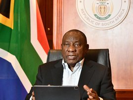 Cyril Ramaphosa: 'Pupils want to go back to school' Presidential Imbizo