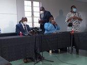 Zweli Mkhize at Clairwood Hospital 3