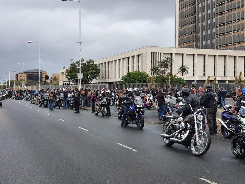 Thousands of bikers ride against farm violence 1