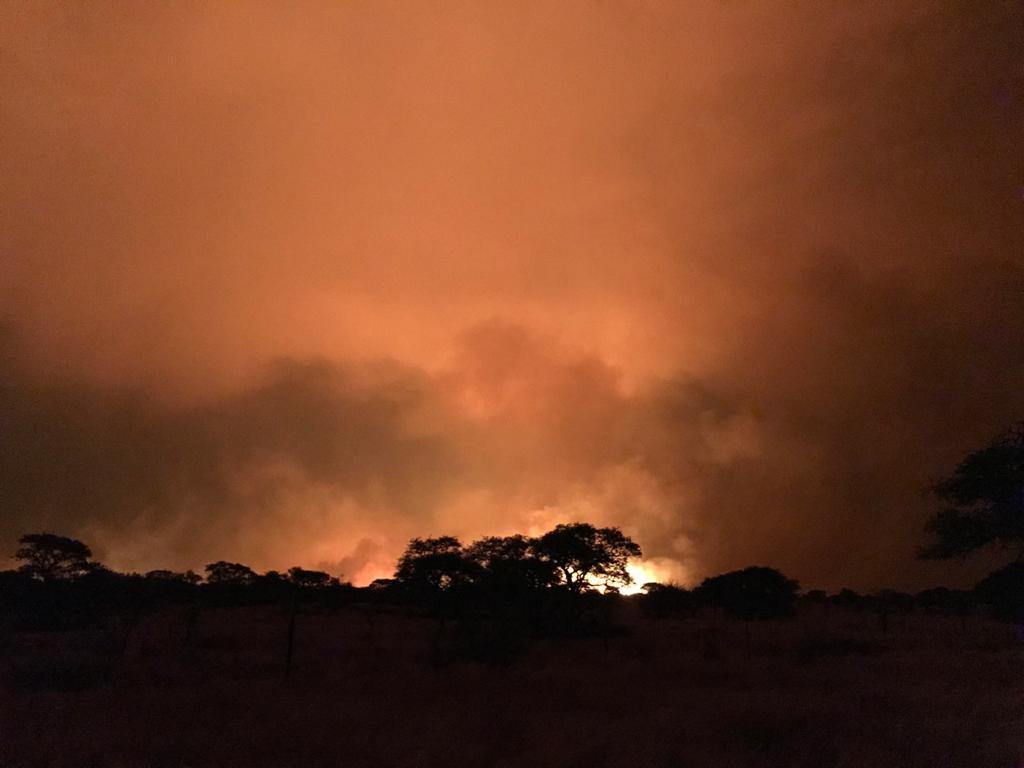 veldfire wildfire