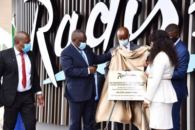 New hotel will boost tourism and economy, says Ramaphosa