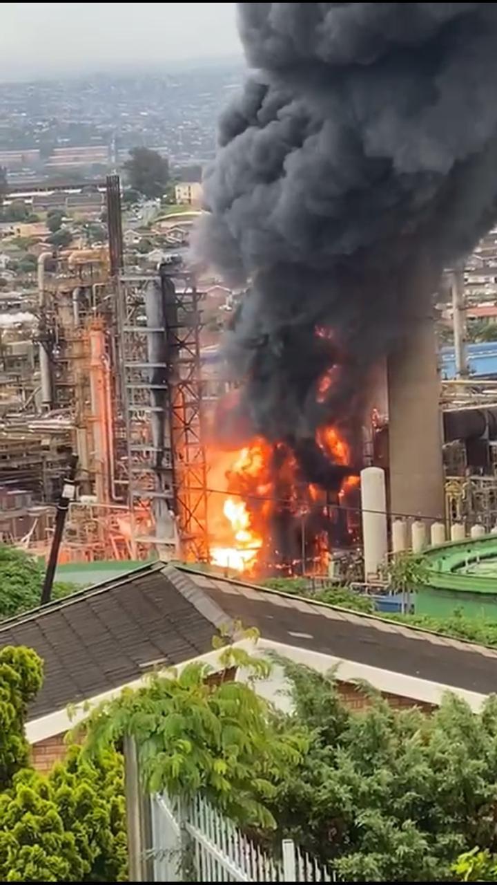 Engen Oil Refinery