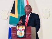 President Cyril Ramaphosa addresses nation in 2021