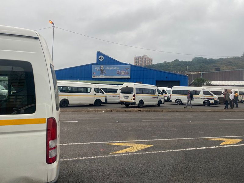 Taxi protest in Durban cleared after blockade