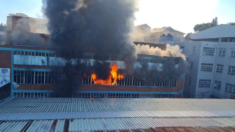 Durban factory fire