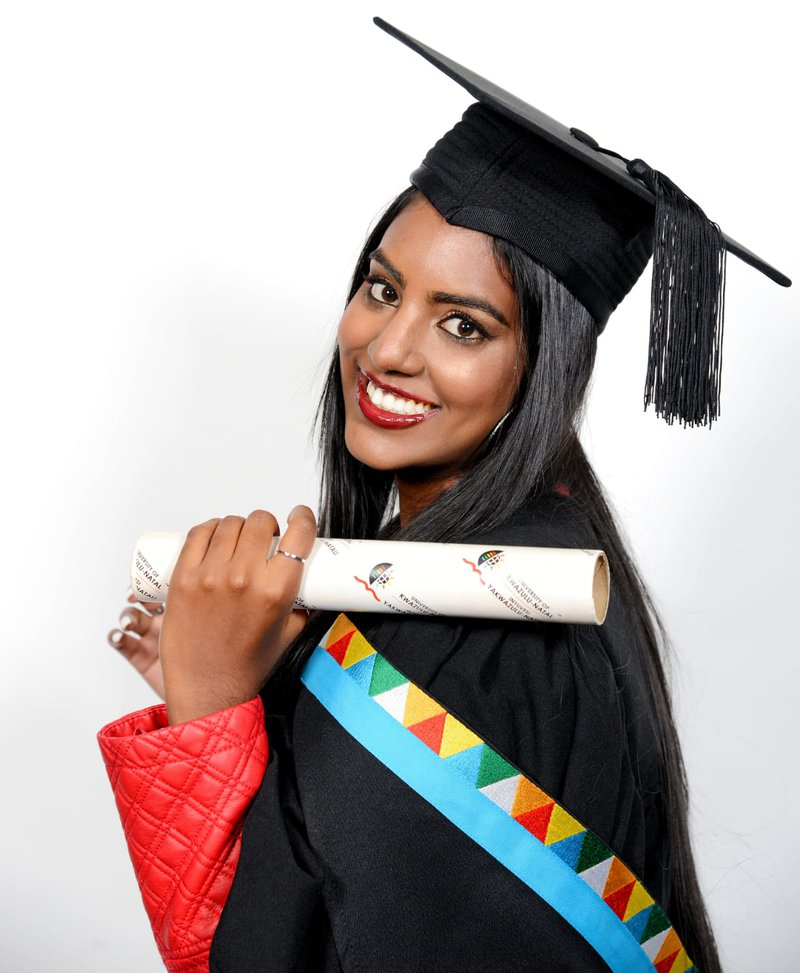 Durbanite graduates Cum laude after getting 16% in Mathematics!