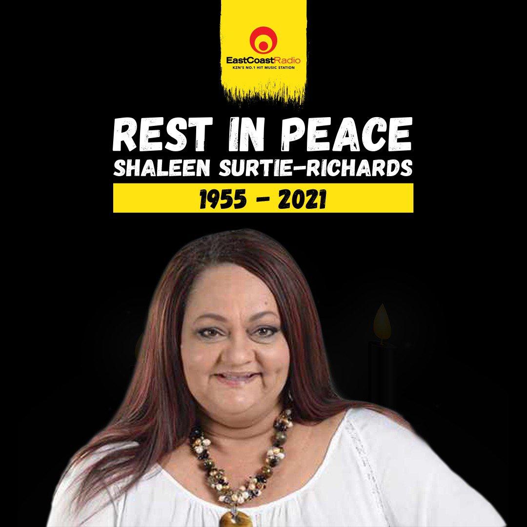 Shaleen Surtie-Richards ecr banner