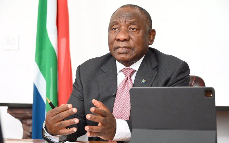 Ramaphosa briefing 10 June