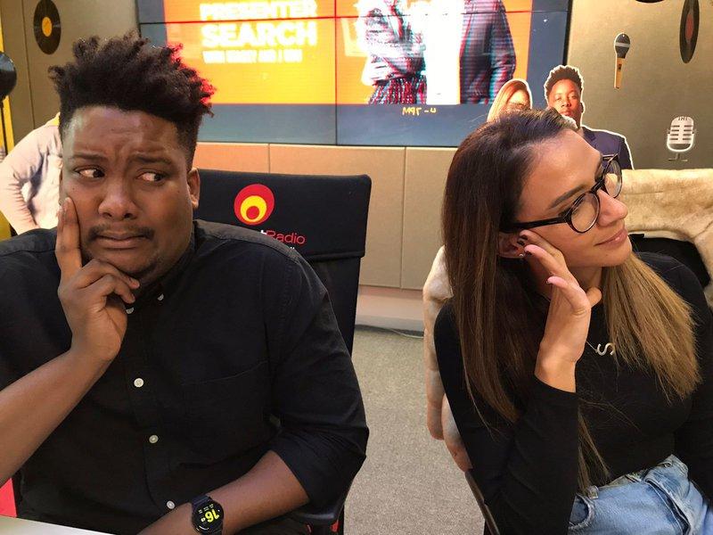 Stacey and J Sbu embarrassed Secret Single Behaviour