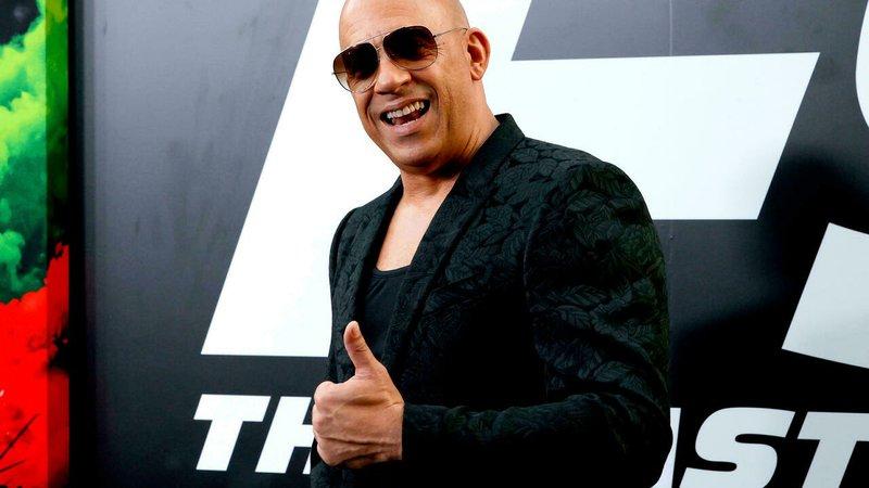 Vin Diesel, star of 'F9: The Fast Saga,'