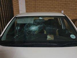 Vehicles damaged due to unrests Joburg