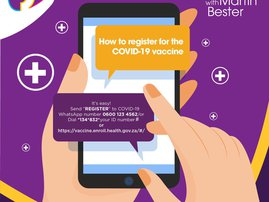 How to register for vaccine one