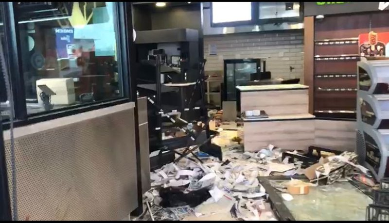 Engen store looted Durban