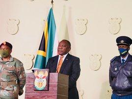 Cyril Ramaphosa July 2021