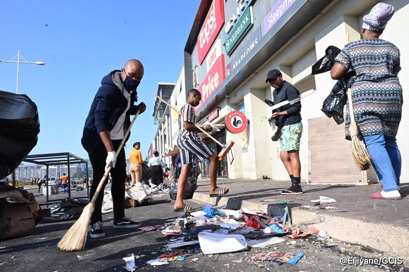 Soweto clean-up July 2021