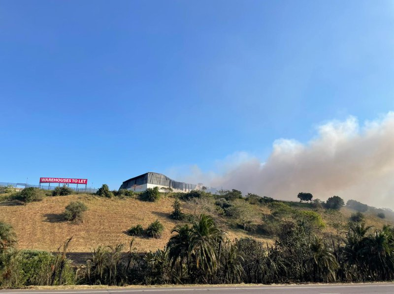 UPL Chemical Plant in Cornubia burning factory Durban SA Unrest