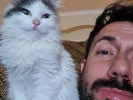 Martin Bester's new kitten