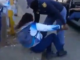 Girl harassed by police