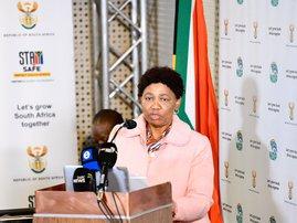 Basic Education Minister Angie Motshekga media briefing 29 august