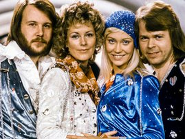"""ABBA hit the big time after winning Eurovision in 1974 with """"Waterloo"""""""