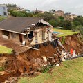 PICS: Section of La Mercy home collapses as KZN rains continue