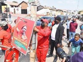 Julius Malema election poster 2